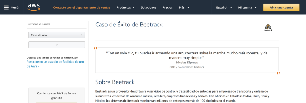 Beetrack Case Study